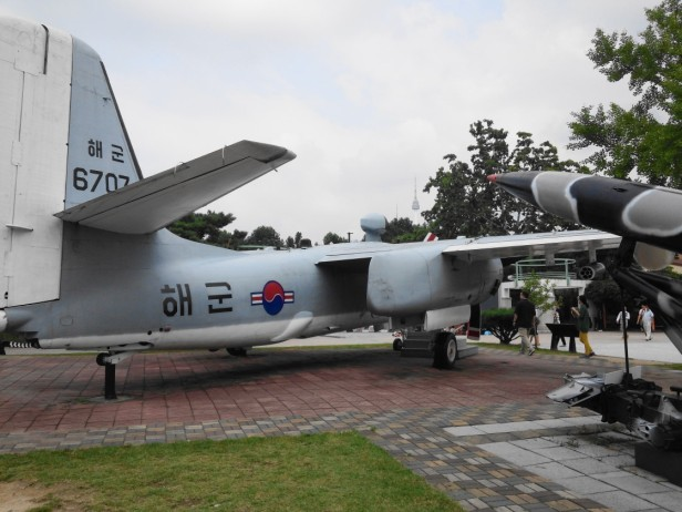 The War Museum of Korea Airplane Display Seoul