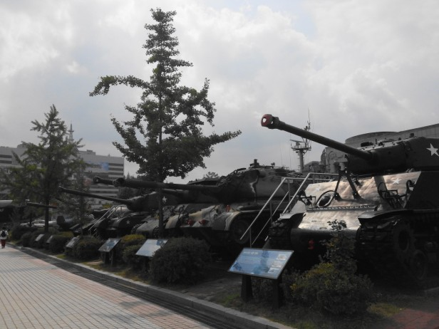 The War Museum of Korea Seoul Tanks