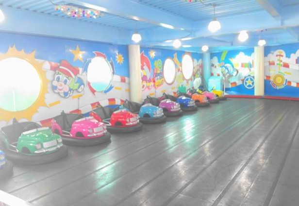 Wolmido Island Incheon bumper cars