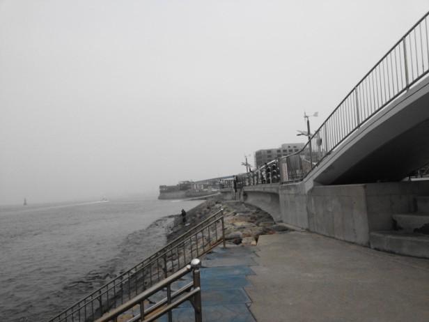Wolmido Island Incheon sea wall