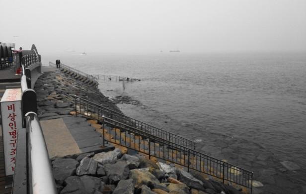 Wolmido Island Incheon seafront