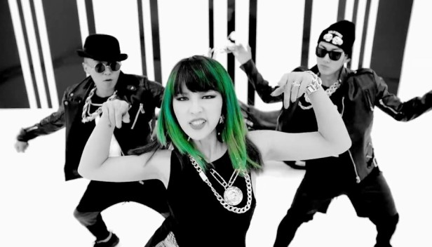 4Minute Crazy Green Hair