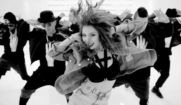 4Minute Crazy Hyuna Dance