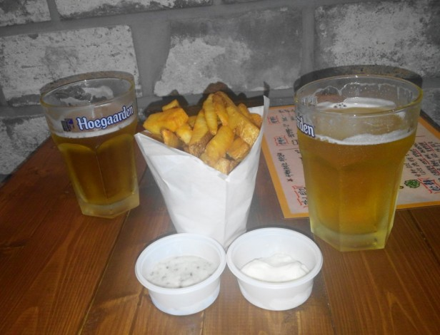 Avec Des Frites South Korea Cheongna Beer