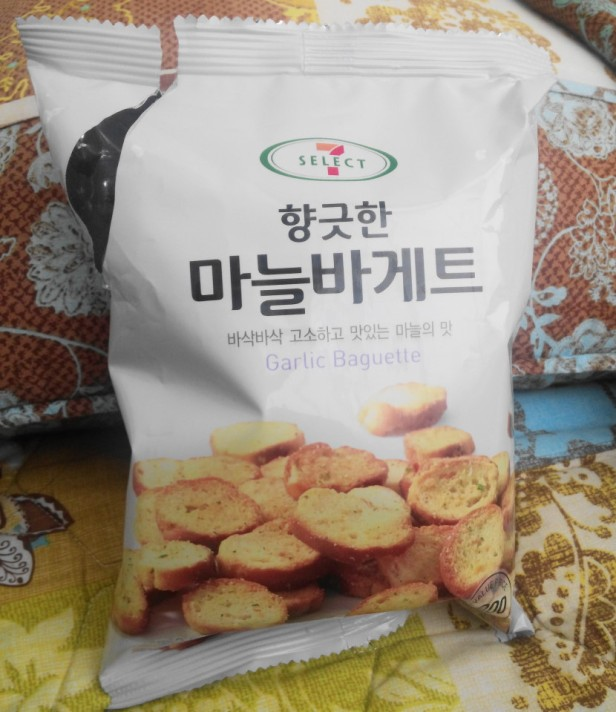 Garlic Bagette Chips 7 Eleven Korea Packet