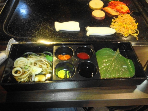 Hwatongsam Korean Barbecue sides
