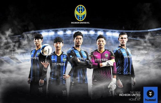 Incheon United 2015 Home Jersey K League
