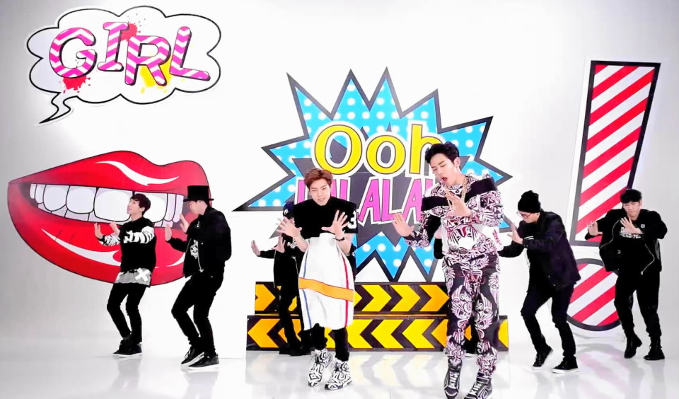Infinite H Pretty Pop Art Dance