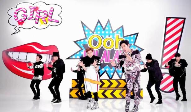 Infinite H Pretty Pop Art Dance