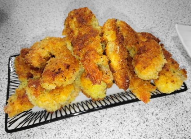 Korean Battered Shrimp Scampi fried