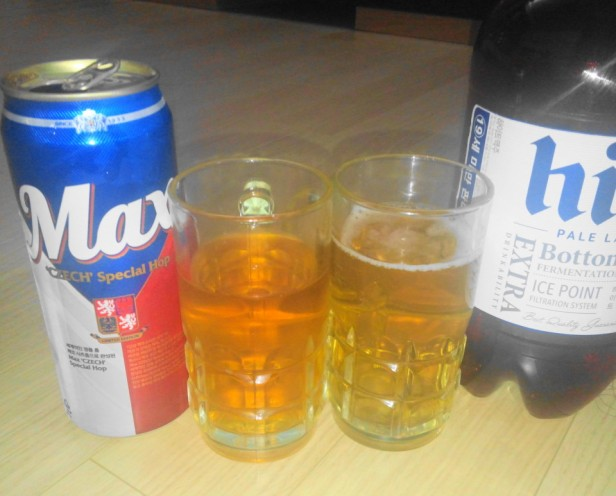 Max Beer Korea Czech Special Hop vs Hite