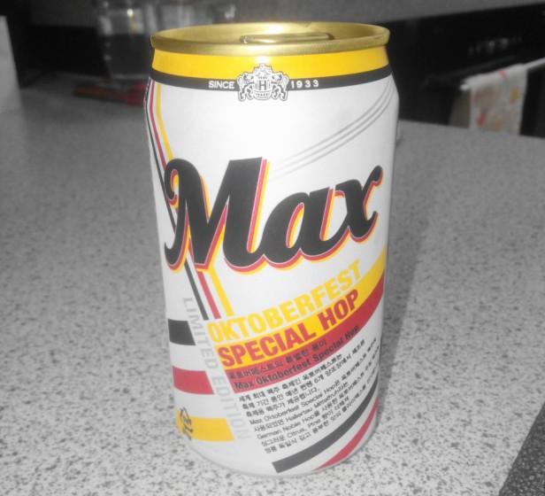 Max Oktoberfast Can Korea