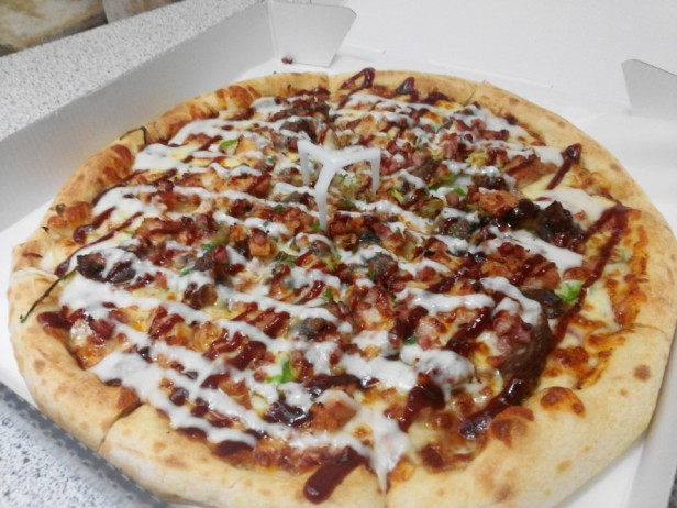 Pizza Nara Chicken Gongju BBQ Pizza