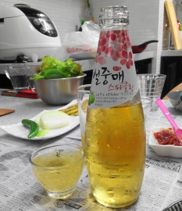 Spark Sparkling Seoljungmae Plum
