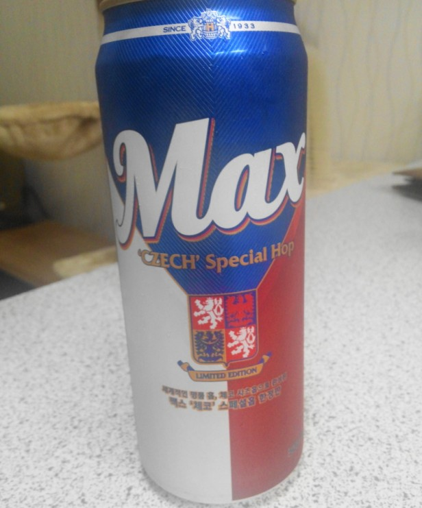Speical Max Beer Korea full can