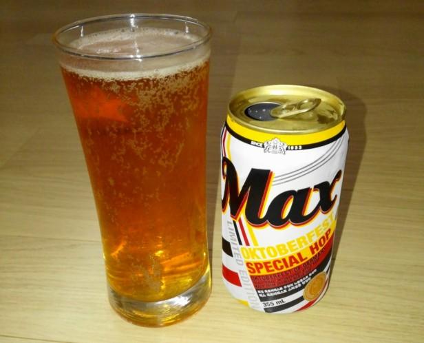 Speical Max Beer Korea Oktoberfast poured