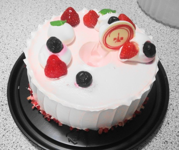 Strawberry Yogurt Cake Paris Baguette fresh