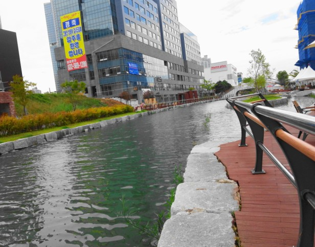 Cheongna Canal Park Incheon close