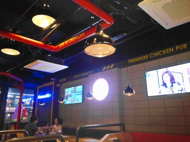 Chicken Bus Cheongna Incheon interior