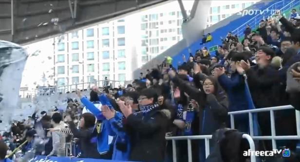 Incheon United Fan vs. Gwangju 2015