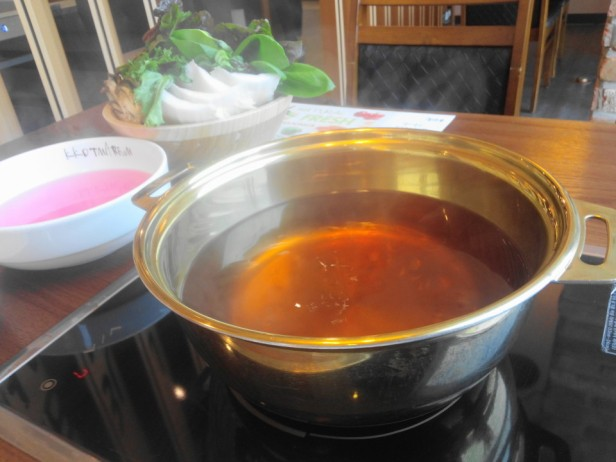 Kkotmaeruem Vietnamese Shabu Shabu pan