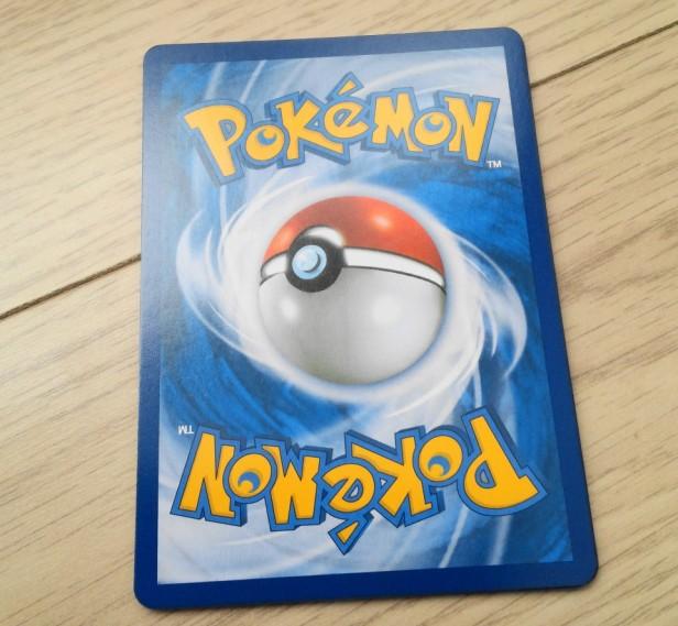 Korean Pokemon Cards XY back