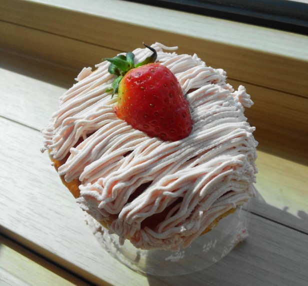 Krispy Kreme Korea Strawberry 2015 Mont Blanc