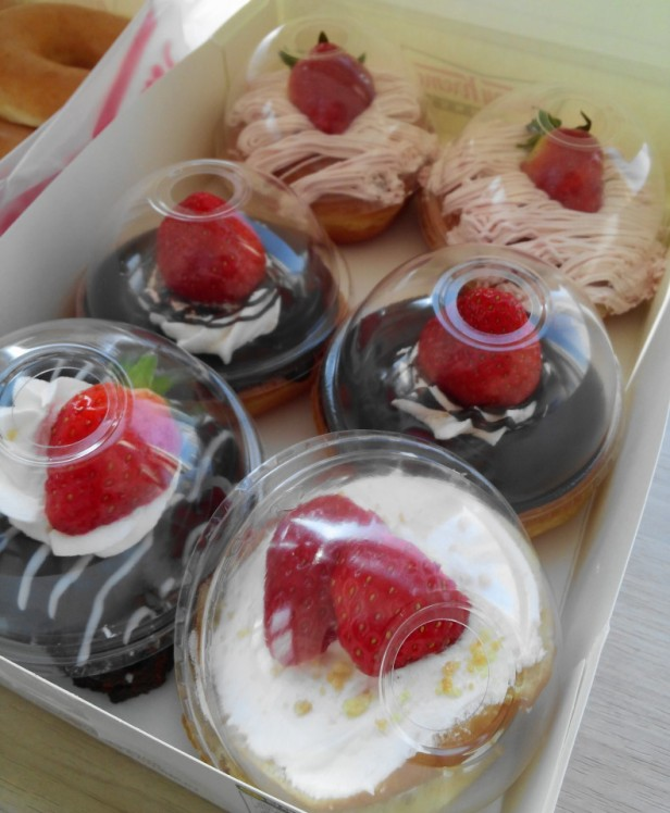 Krispy Kreme Korea Strawberry Set