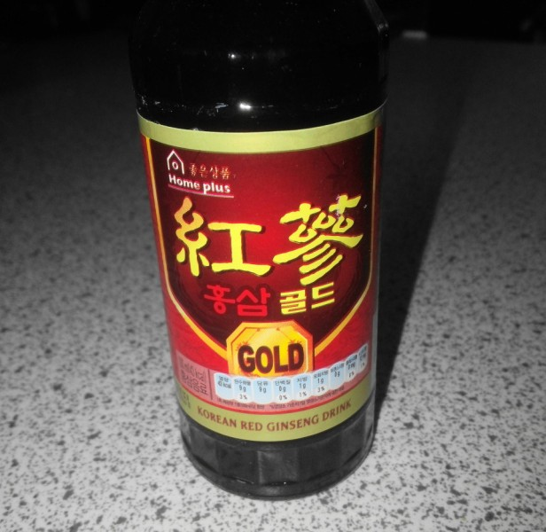Red Ginseng Gold Drink Korean