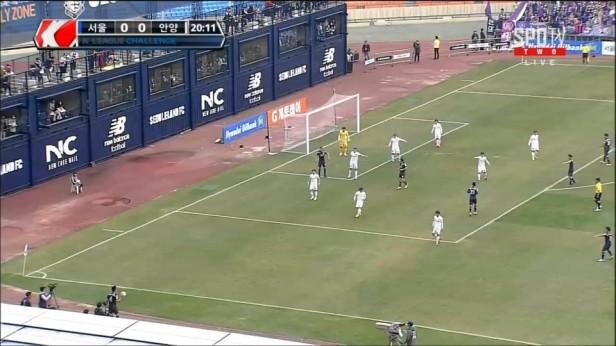 Seoul E-Land FC Gameplay vs FC Anyang