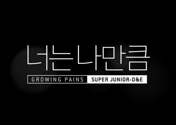 Super Junior D&E Growing Pains banner