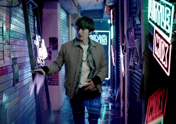 Super Junior D&E Growing Pains Neon