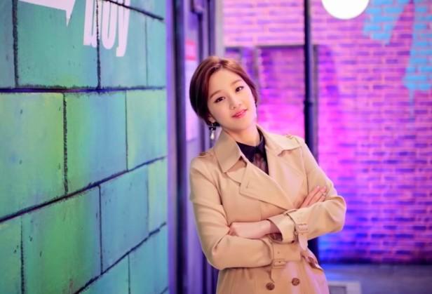 Park Boram Celepretty pose
