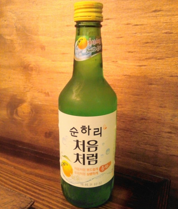 Citron Soju 2015 Cheongna Incheon