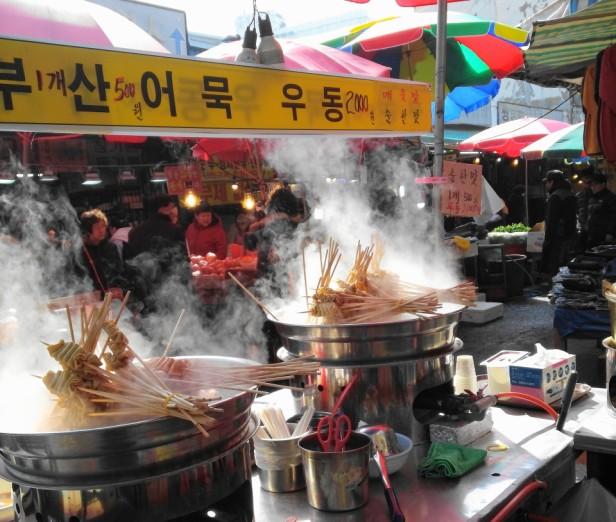 Korean Egg Bread Incheon Bupyeong Market