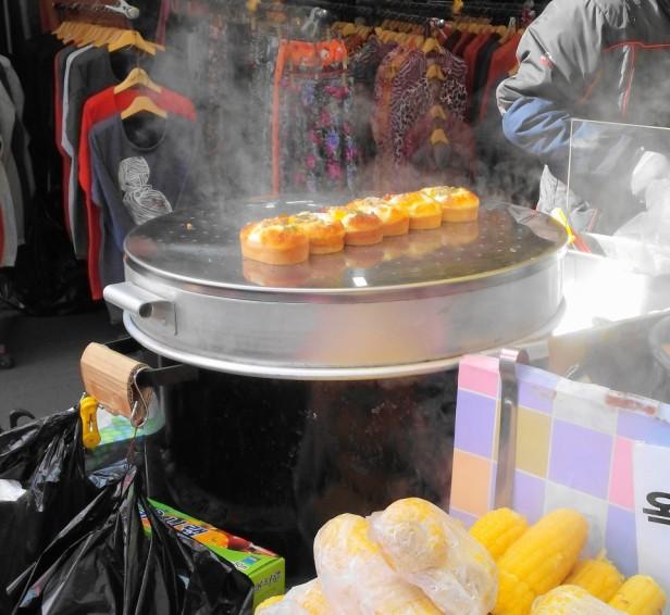 Korean Egg Bread Street Food Bupyeong