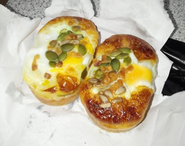 Korean Egg Bread Street Food Finished