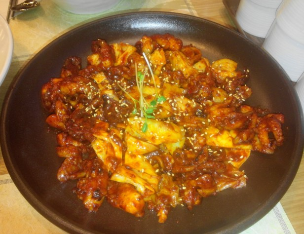 Korean Spicy Baby Octopus Nakji Bokkeum 1
