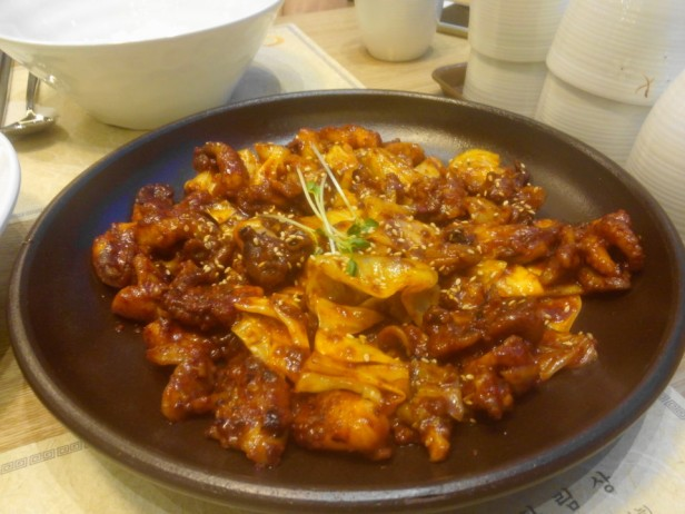 Korean Spicy Baby Octopus Nakji Bokkeum 2