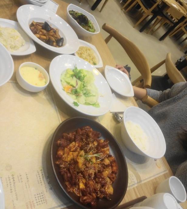 Korean Spicy Baby Octopus Table Cheongna