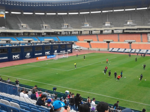 Seoul E-Land vs. Daegu FC K League Before KO