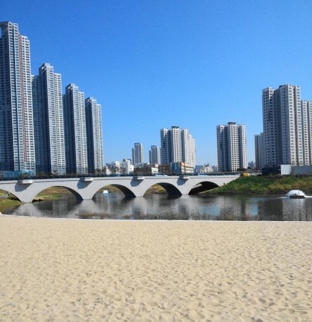 Cheongna Lake Park Beach 2015