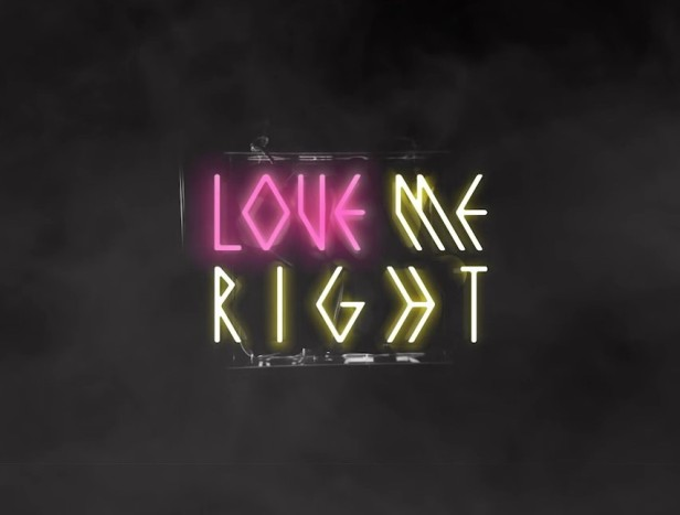 EXO Love Me Right Banner