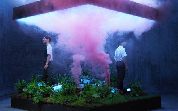 EXO Love Me Right Smoke Garden