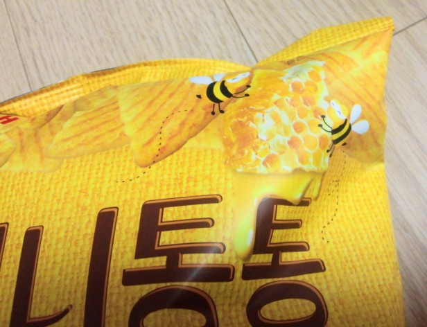 Honey Butter Tong Korean Snack Bees