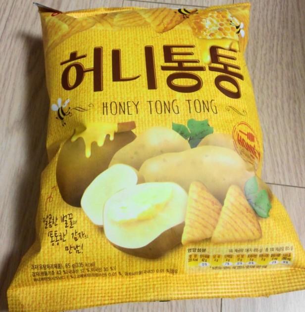 Honey Butter Tong Korean Snack