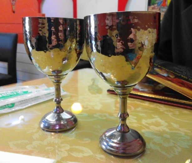 Jyoti Indian Restaurant Seoul goblet cups
