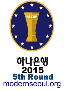 Korean FA Cup 2015 5th Round June 24th banner
