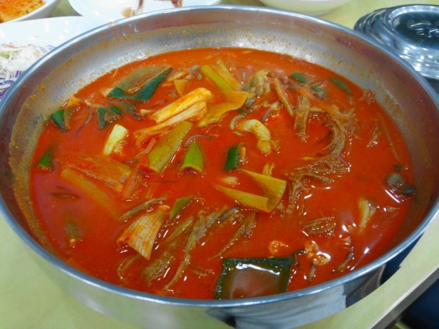 YukGaeJang Korean Spicy Beef Soup Cheongna