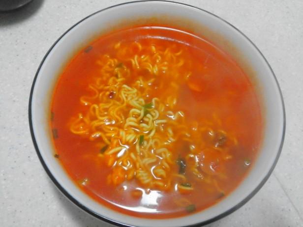Budaejjigae Noodles after